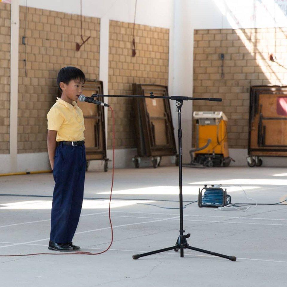 Primary Public Speaking